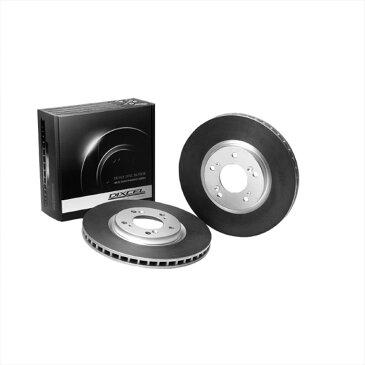 インプレッサ ブレーキローター GC6 94/10-96/8 リア HDタイプ ディクセル/DEXCEL (3652826