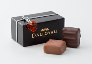 プチギフトに最適< ダロワイヨ >【 バレンタイン バロタン2粒詰 】 [ チョコレート ギフト ...