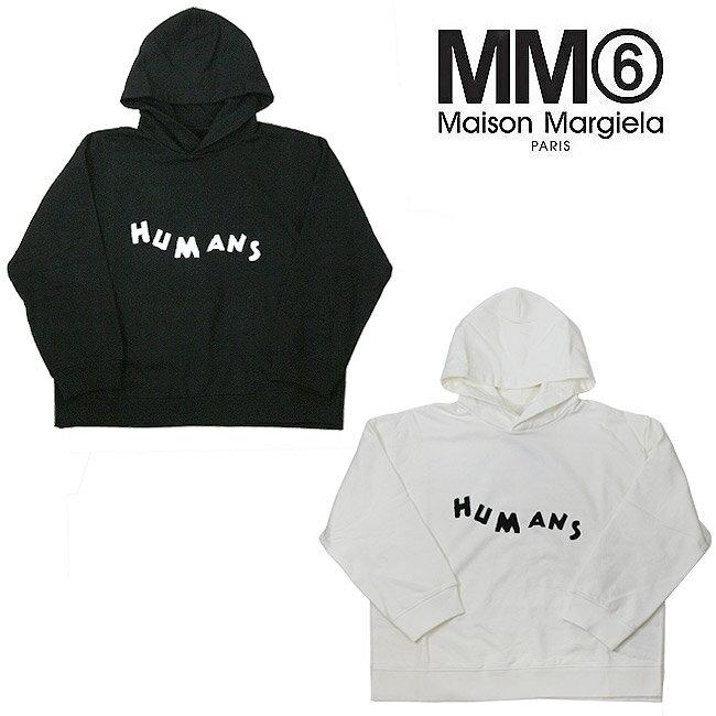 トップス, パーカー  SALEMM6 MAISON MARGIELA 2HUMANS LOGO BACK HOODIE S52GU0081-S25387S52GU0081-S2 5337
