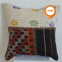 トルコ雑貨トルコ雑貨土産手織りキリムクッションカバー45cm×45cm