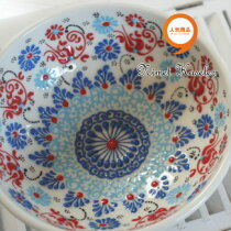 トルコ雑貨トルコ雑貨キュタフヤニメット工房手描き陶器