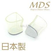 革付きヒールキャップ日本製社交ダンスシューズMDS(cap-L5)皮付き★メール便(クロネコDM便)または宅急便の選択が可能です★ダンスシューズエーディーエス合同会社MAJESTマジェスト