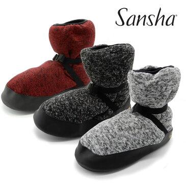 サンシャ Sansha WOOG バレエ ウォームブーツ ウォームアップブーツ ウォームアップ シューズ ブーティー ショート トゥシューズカバー 室内履き