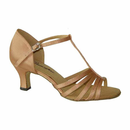 ダンスシューズ・社交ダンスシューズ・レディース【セミオーダー】女性ラテンシューズ・ピンクベージュ169303セミオーダー品ですのであなたにぴったりの1足がつくれますよ♪