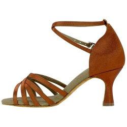【セミオーダー】FL3315BR女性ラテンダンスシューズ/ダンスシューズ/社交ダンスシューズ/ダンス用品/靴