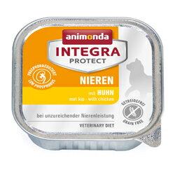 [86800] アニモンダ インテグラプロテクト  腎臓ケア ニーレン 鶏 100g[ キャットフード ウェットフード 低リン グレインフリー 療法食 animonda 猫用 ドイツ キャット ]