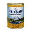 ナチュラルバランス ダック&ポテト缶 13オンス(374g) [ 取寄せ商品 ドッグフード ウェットフード アレルギーケア NaturalBalance ]