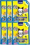 【あす楽対応】【猫砂】ライオン ニオイをとる砂 軽量タイプ 5L 6個セット【関東/信越/北陸/中部への配送は送料無料です!】