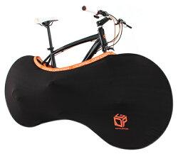 ドッペルギャンガーストレッチバイシクルブリーフ*DCC164-BKブラック小径自転車運び袋キャリーバッグ