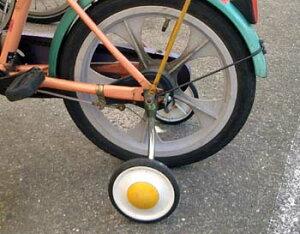 [要ママ割登録&エントリでポイント5倍]子供 自転車 補助輪 18インチ 男の子 女の子 こども用 ( 子ども用 キッズ用 子供用 ) 子供自転車に取り付ける補助輪 子供自転車の補助車輪 ( コマ こま