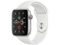 [新品]AppleWatchSeries5GPSCellularモデル44mmMWWC2J/A[ホワイトスポーツバンド]アップルウォッチ