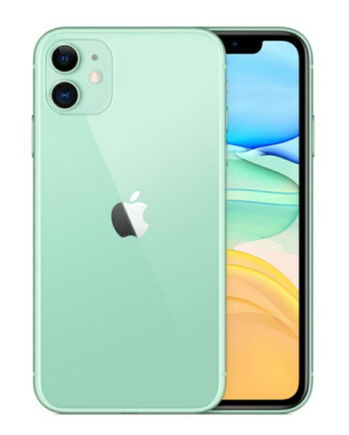 【5%還元対象】[新品] Apple アップル iPhone11 128GB SIMフリー グリーン MWM62J/A 45499950827...