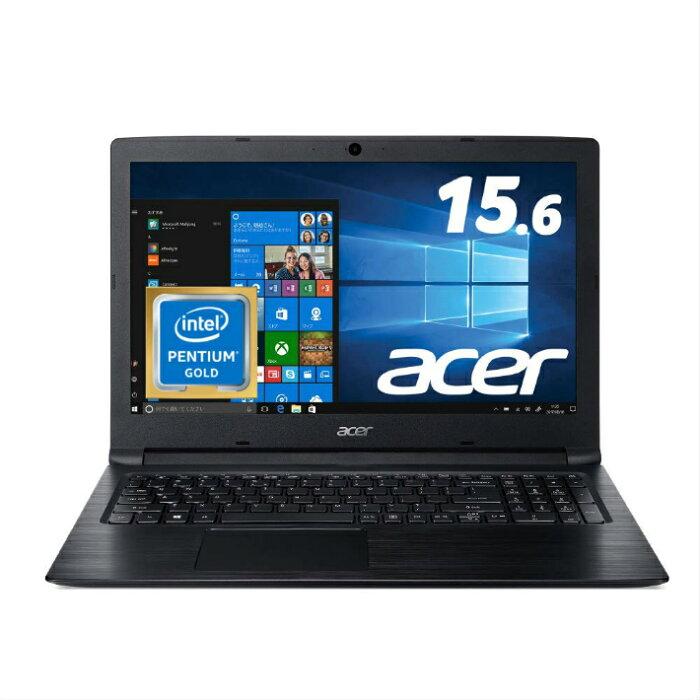 【5%還元対象】[新品] Acer エイサー Aspire 3 15.6型 ノートPC A315-53-N24Q/K Pentium 4GB 128GB Windows 10 Officeなし オブシディアンブラック 4515777598477