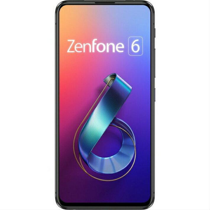 【5%還元対象】[新品] ASUS エイスース ZenFone 6 ミッドナイトブラック ZS630KL-BK128S6 SIMフ...