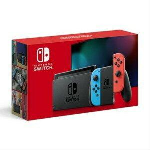 [新品] 任天堂 新型Nintendo Switch JOY-CON(L) ネオンブルー/(R) ネオンレッド 4902370542912 スイッチ