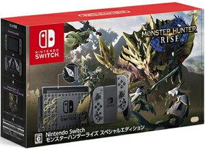 クレジットカードのみ受付 新品 任天堂新型NintendoSwitchモンスターハンターライズスペシャルエディション/Switc