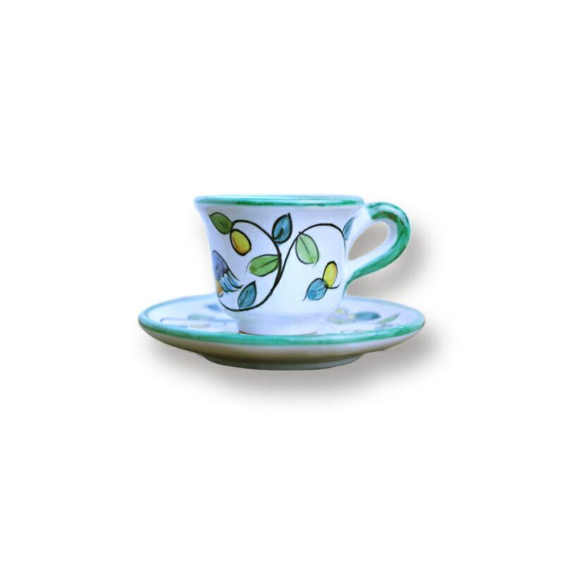 カップ&ソーサー バード&フラワーエスプレッソにもコーヒーにも!デミサイズの可愛いセットでお客様をおもてなし♪