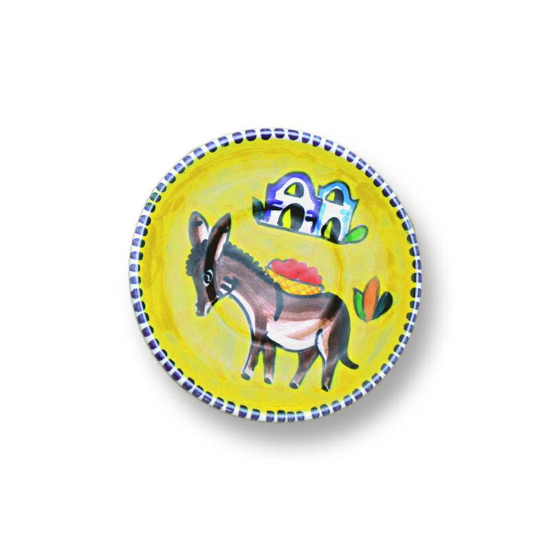 カップ&ソーサー イエローロバパスクワーレお得意のロバの絵柄が可愛い!前菜やスープ、ムースを入れても素敵♪