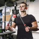 アームバー 筋トレグッズ 筋トレ器具 0-180キロ 力のレベルを自由に調整可能 電子計数 大胸筋 上腕二頭筋 筋肉 トレーニング器具 一年品質保証&日本語取扱説明書付き