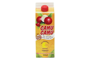 送料無料♪★30%カムカム果汁入り5倍濃縮飲料500ml×6本 賞味期限2021年10月1日★乾燥季節のスーパービタミンC&ポリフェノール補給に♪★ビタミンC世界一♪美味しさにこだわりました〜♪