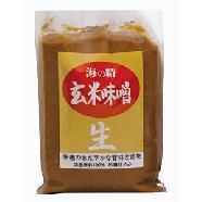 米麹のおだやかな甘味と旨味国産原料100% 杉樽仕込み【海の精】玄米味噌 1kg1023max10
