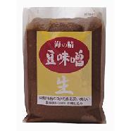 豆麹特有のコクのある深い味わい!国産原料100%杉樽仕込み【海の精】豆味噌 1kg1023max10