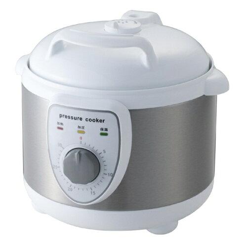 圧力式電気鍋 APC-T19 W レシピブック付 電気圧力鍋 簡単 ラクラク 料理 調理 安...