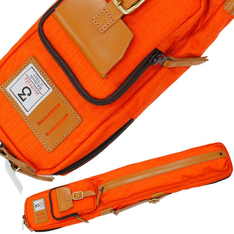 ビリヤード キューケーススリーセカンズキューケース 3B4S オレンジ:ビリヤード&ダーツ ER SPORTS