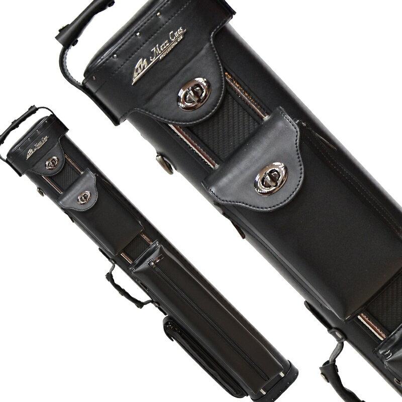ビリヤード キューケース【細部に至る機能性・収納性・ユーザーケア】MEZZ GMC 3バット5シャフト ブラック/カーボン (Cue Case GMC-35KC):ビリヤード&ダーツ ER SPORTS