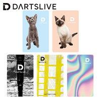 ダーツDARTSLIVECARDライブカードオンラインカード猫オーロラダーク(メール便OK/1トリ)