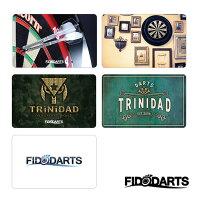ダーツオンラインカードフィドダーツカードFIDODARTSCARDVol.1全5種(メール便OK/1トリ)