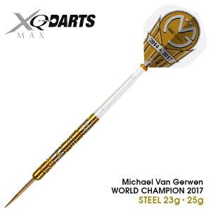 【スーパーSALE】ダーツ Michael Van Gerwen WORLD CHAMPION2017 STEEL