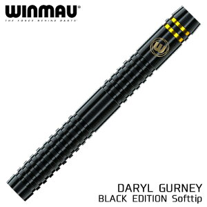 winmau Daryl Gurney 90% 20g Black Edition ウィンマウ ダリル・ガーニー ブラックエディション ウィンモー (メール便OK/5トリ)