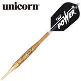 ダーツバレル unicorn ユニコーン EVOLUTION OF THE POWER PHASE5 ゴールド