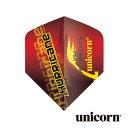 Darts shop TiTO (ダーツティト)で買える「【楽天スーパーSALE】ダーツ フライト unicorn KIM HUYBRECHTS レッド(メール便OK/2トリ」の画像です。価格は128円になります。