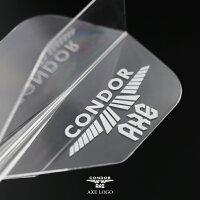 【予約でP10倍】ダーツフライトコンドルアックスAXEロゴスモールCONDORAXELOGOSmall硬コンシャフト一体型