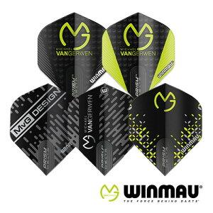 フライト ウィンモー Winmau Prism Delta MvG マイケル・ヴァン・ガーウェン プリズム デルタ(メール便OK/1トリ)