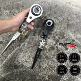 musttoolイチネンミツトモラチェットシノ4サイズ24mm×27mm×32mm×36mmラチェットレンチRW-4SSBC、RW-4SSNIマストツール