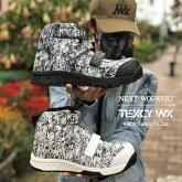 【限定】NEXTWORKERZ×TEXCYWXネクストワーカーズ×テクシーワークス安全靴セーフティシューズWX-0008SハイカットマジックJSAAA種アシックス商事ASICSTradingCo.,LTD.