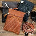 ■lb035-dbr■本革スエードフリンジレザーバッグショルダーバッグ斜め掛けダークブラウン[牛革|メンズ|バイカー|かばん|鞄|レザーバッグ]【RCP】