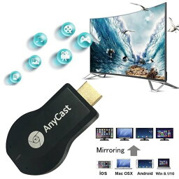 Anycast M2 Plus HDMI Streaming Media Player / 無線 WIFI HDMI ストリーミング Wi-Fi  画面共有 Dongle イージー 送料無料
