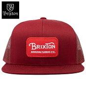 BRIXTONGRADEMESHCAPキャップブリクストンロゴメッシュキャップ帽子平つばメンズレディーススナップバックグレード