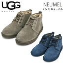 【UGG アグ】 即納 ニューメル NEUMEL シープスキンシューズ レースアップ メンズ 3236