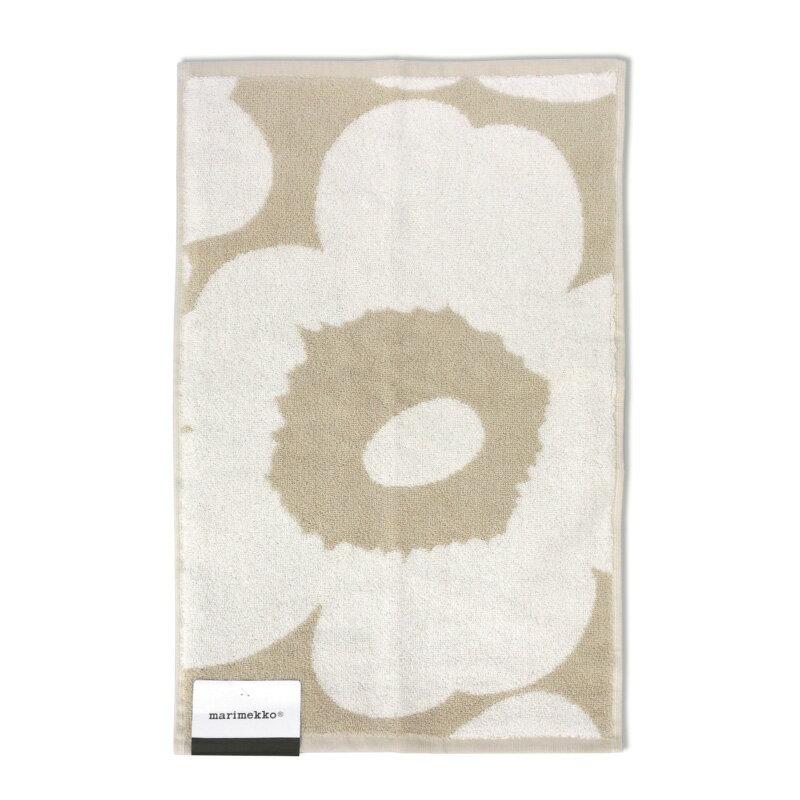 ハンカチ・ハンドタオル, ハンドタオル marimekko Unikko Guest Towel 5030cm 070232 810 BeigeWhite