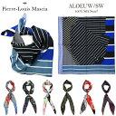 Pierre Louis Mascia ピエールルイマシア 正規品 シルク100%スカーフ ALOEUW 70 (Aloe Ultra Wash70) レディース フォーマル カジュアル silk scarf メンズ プレゼントにも喜ばれます