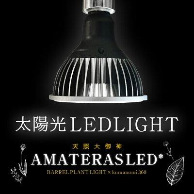 AMATERAS LED 20W 植物育成LED 太陽光LED アクアリウムLED テラリウム 室内太陽光LED ブラックボディ 画像2
