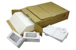 <メーカー在庫限り>名刺用紙ホワイトプリンスA4 ホワイト系 紙厚0.196mm 220枚入り 141102【印字後、名刺カッター・裁断機にて裁断加工してください】※レーザープリンタ用です【代引き不可】