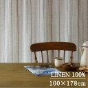 既製カーテン1.5倍ヒダ 100×178 cm リトアニア産...
