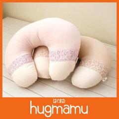 【日本製】ママと赤ちゃんもらくらく三重ガーゼ授乳クッション【フラワリー】【ライン】【6578】