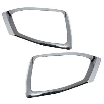 【14日9:59までクーポンで10%OFF】スバル フォレスター SJ 系 MC後 対応 専用 外装 パーツ フロント フォグ ライト カバー ガーニッシュ 左右セット フレーム べゼル ドレスアップ カスタムパーツ SUBARU FORESTER sj 2.0i 2.0i-L 2.0i-L EyeSight X-BREAK